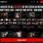 Czechav.com Account Online