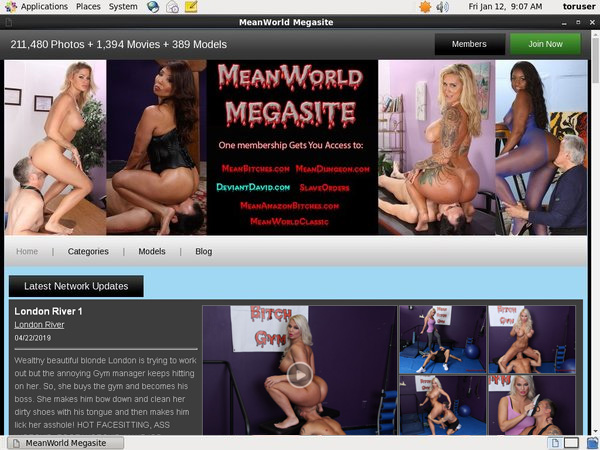 Meanworld.com Free Join