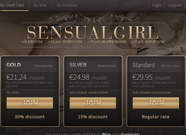 Sensual Girl Passworter