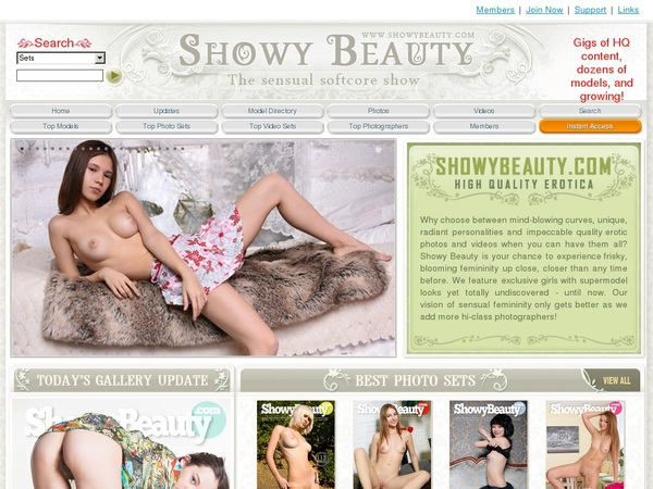 Free Showy Beauty Trial Account