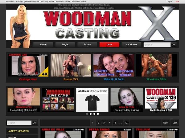 Id Woodman Casting X