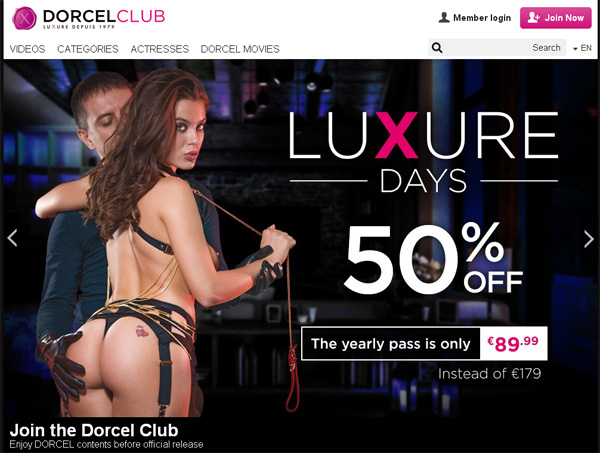 Discount On Dorcel Club