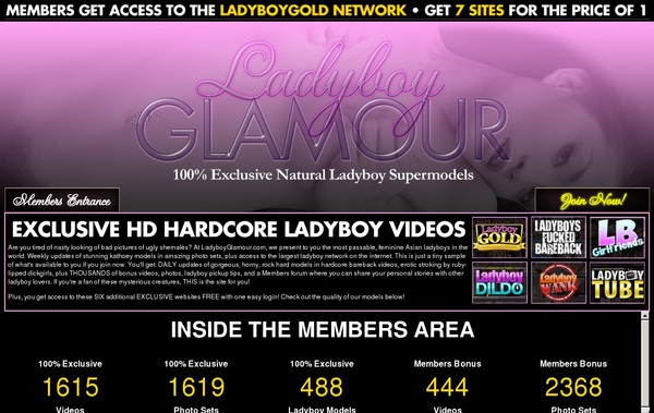 Get Ladyboy Glamour Password