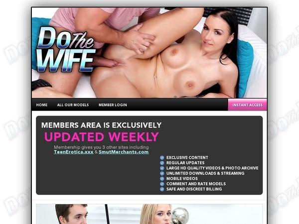 Dothewife.com Working Password