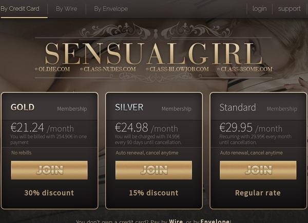 Passwords To Sensualgirl.com