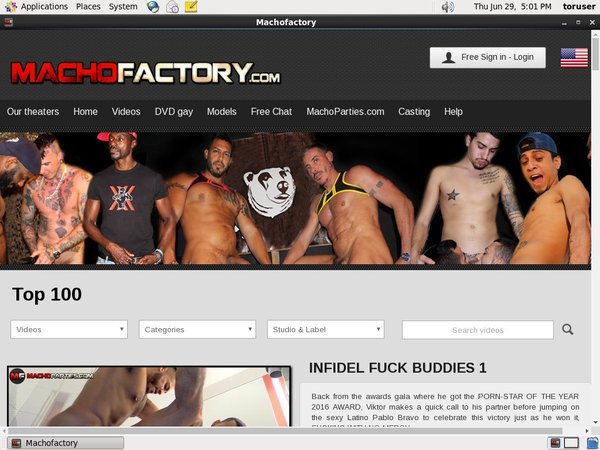 Macho Factory Member Account